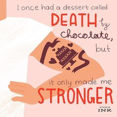 A hilarious quote that accurately describes our love for chocolate! Click through to see more fun and inspirational quotes you'll want to share from Studio INK on Instagram! Chocolate Day, Death By Chocolate, More Fun, Quotes To Live By, Funny Quotes, Hilarious, Inspirational Quotes, Mood, Ink