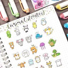 How to Doodle in your Planner | Zen of Planning