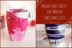Dollar Store Crafts – Last Minute Christmas Gifts
