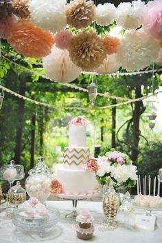 An Elizabeth's Cake Emporium dessert table #elizabethscakeemporium