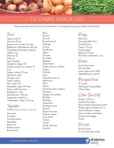 Enjoy this extensive selection of snacks with just 15 carbohydrates - a perfect grocery shopping companion.