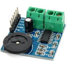 PAM8403 Dual Channel Mini Digital Audio Amplifier Board w/ Volume Control - Black + Green + Blue. Brand N/A Model PAM8403 Quantity 1 Color Black + green + blue Material Copper Clad Laminate (CCL) Features 3W x 2 stereo class D audio amplifier Specification In-board ENC-03M single axis gyro sensor; Supports 2.7~5.25V voltage input; Common pin has been lead out, pin is 100mil (2.54mm), convenient for lattice board; Size: 30 x 30mm; Working voltage: 5V Application Mini digital amplifier board…