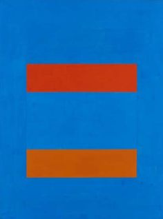 Ulrich Erben Farben der Erinnerung, EXTERIEUR  ⅠI, 1989, Acryl auf Leinwand, 145…