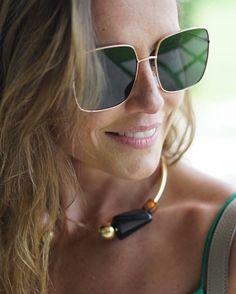 A linda @dedesecco com seu Dior Stellaire em tons de verde! Começando o dia com essa linda inspiração parar seu óculos de sol novo! #oticaswanny #dedesecco #dior #diorstellaire #bomdia