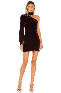 Shop for House of Harlow 1960 x REVOLVE Morana Dress in Wine at REVOLVE. Blue Midi Dress, Purple Dress, The Dress, House Dress, Holiday Dresses, Latest Fashion For Women, Fashion Women, Ladies Dress Design, Chic
