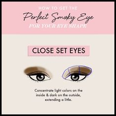 Close Set Eyes - Land The Perfect Smoky Eye for Your Eye Shape