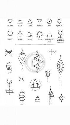 geometry tattoo - Tattoo Designs - List of the most beautiful tattoo models Simbols Tattoo, Unalome Tattoo, Tatoo Henna, Glyph Tattoo, Wicca Tattoo, Temp Tattoo, Tattoo Fonts, Tattoo Quotes, Soul Tattoo