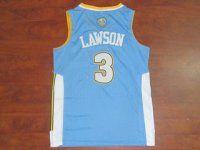 Denver Nuggets NBA #3 Light Blue Ty Lawson Jersey [F370]
