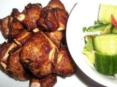 Deep Fried Thai Spicy Pork Ribs,,,pretty freakin' amazin'  sw☺