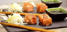 Teriyaki-lohi Fish And Seafood, Tapas, Menu, Asian, Dinner, Recipes, Inspiration, Menu Board Design, Biblical Inspiration
