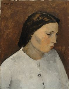 William Scott, Mary, 1939, Oil on canvas, 35.3 × 27.5 cm / 14 × 11 in, Private collection