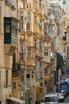 Traditional Maltese Balconies