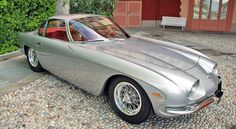 1964-1966 Lamborghini 350 GT, 135 produced. V12. First production Lamborghini. Body designed and built by Touring.