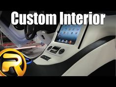 How to build a custom center console - YouTube