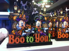 Boo to You Minnie and Mickey