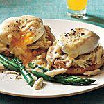 101 Healthy Breakfast Ideas / Crab Eggs Benedict