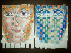 Here's both of them together. I haven't quite lined up the strips in the left image yet.
