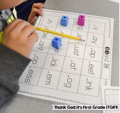 Free Consonant Blends Game for 1st-2nd grade!