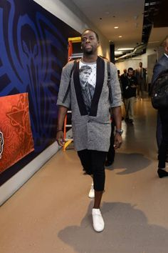 45ba1dcd18d Draymond Green of the Western Conference AllStar Team arrives at the arena  during the NBA AllStar