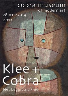 Paul Klee & Cobra, het begint als kind,  Cobra museum Amstelveen 28-01-2012 / 22-04-2012