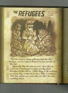 Gravity Falls Book, Libro Gravity Falls, Gravity Falls Journal, Clarinet Sheet Music, Fallen Series, Purple Fire, Dipper And Mabel, Journal 3, Cartoon Drawings