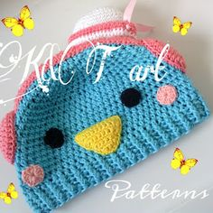 """""""The difference is in the details"""": Tuxedo Sam crochet hat pattern"""
