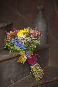 Brides bouquet- wildflowers