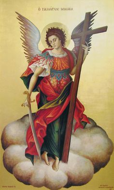 Archangel Michael, Angel of God, Prince of heaven, Leader of the heavenly hosts.w