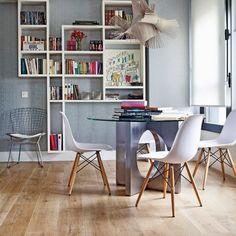 Двухэтажная квартира общей площадью 65 кв. метров в Мадриде