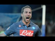Gonzalo Higuain Hat-trick Goal - Napoli vs Dynamo Moscow 3:1 (Europa Lea...