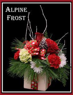 Christmas Arrangement By Jerrys Flowers Christmas Flower Arrangements Christmas Flowers Christmas Ideas Floral