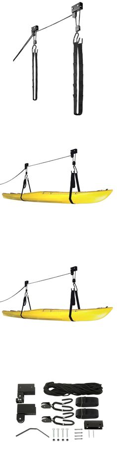 Accessories 87089: Radd Sportz Kayak Hoist Quality Garage Storage Canoe Lift With 125 Lb Capacity E -> BUY IT NOW ONLY: $33.47 on eBay!