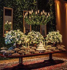 casamento-cris-moreno-babi-leite-08 Wedding Stage, Chic Wedding, Elegant Wedding, Rustic Wedding, Dream Wedding, Wedding Day, Reception Decorations, Event Decor, Flower Decorations