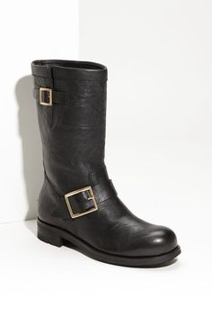 Jimmy Choo Motorcycle Boot available at #Nordstrom