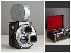 VINTAGE CAMERA / 16mm Movie Camera by TuTuVintageBeautiful on Etsy
