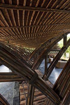 AMAZING bamboo structure