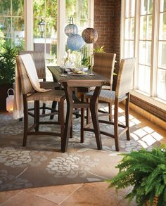 HSN Improvements products help improve your home and garden - from hiding menacing electrical cords, to creating space-saving storage ideas. Apartment Porch, Outdoor Living Furniture, Dining Sets, Patio Dining, Furniture Collection, Small Spaces, Hardwood, Pergola, Royalty