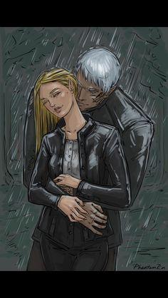 Rowan and Aelin via phantomrin