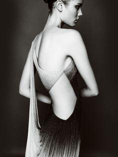 Monika Jagaciak | Designer: Atelier Versace Fall Winter 2010 2011