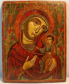 ПОРТАИТИССА Балканы. XVIII в. 52x41 cм. ikonengalerie von kuelmer