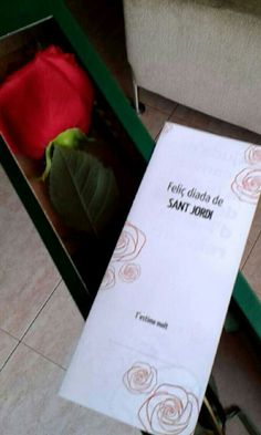 As I've said before it was Sant Jordi's day