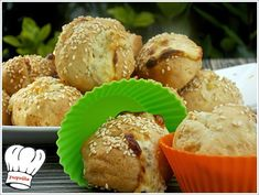 ΚΡΕΜΩΔΗ ΤΥΡΕΝΙΑ ΣΝΑΚ ΜΕ ΦΑΝΤΑΣΤΙΚΗ ΖΥΜΗ!!! - Νόστιμες συνταγές της Γωγώς! Starters, Muffin, Breakfast, Recipes, Food, Morning Coffee, Recipies, Essen, Muffins