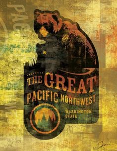 """""""PNW"""" by Greg Simanson, Seattle //  // Imagekind.com -- Buy stunning, museum-quality fine art prints, framed prints, and canvas prints directly from independent working artists and photographers."""