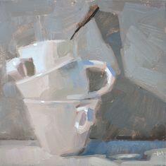 Carol Marine's Painting a Day: The Balancer