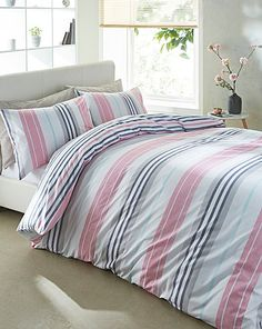Galeno Reversible Print Duvet Cover Set House Of Bath