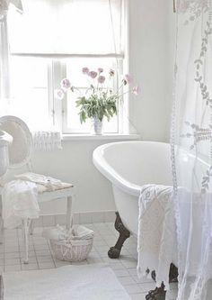 22 badrum i vintagestil – som hämtade ur en saga - Sköna hem
