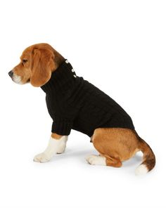 Cabled Cashmere Dog Sweater - For the Pet  Home - RalphLauren.com