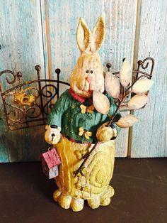 Mr. Rabbit on the fence!