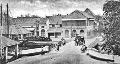 Batavia, de oude stad circa 1900.