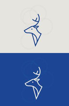 Very cool | raymon-duncan.squarespace.com - deer_2.jpg — Designspiration